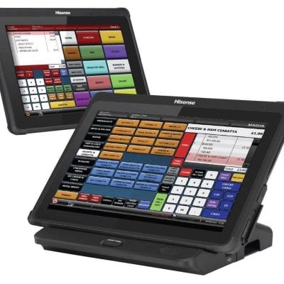 Hisense HM388 8 Lightweight Tablet POS System Touchscreen display