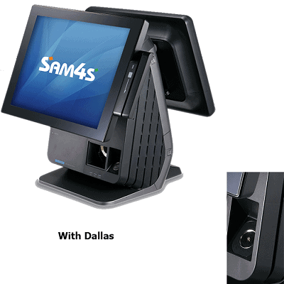 SAM4S SPT-7652 All-In-One +Dallas Reader
