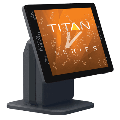 SAM4S Titan S265V Touch Screen Till No Extras Black